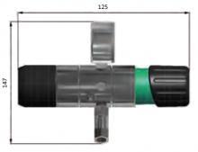 Габаритные размеры регулятора LMD 522-03/05