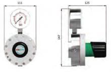 Габаритные размеры регулятора LMD 545-01